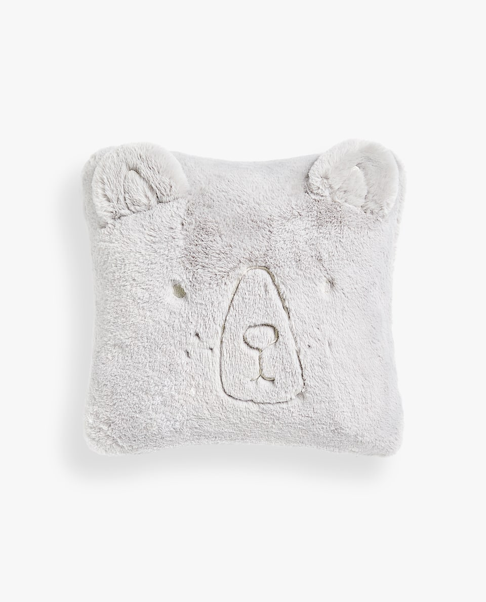 BEAR CUSHION COVER