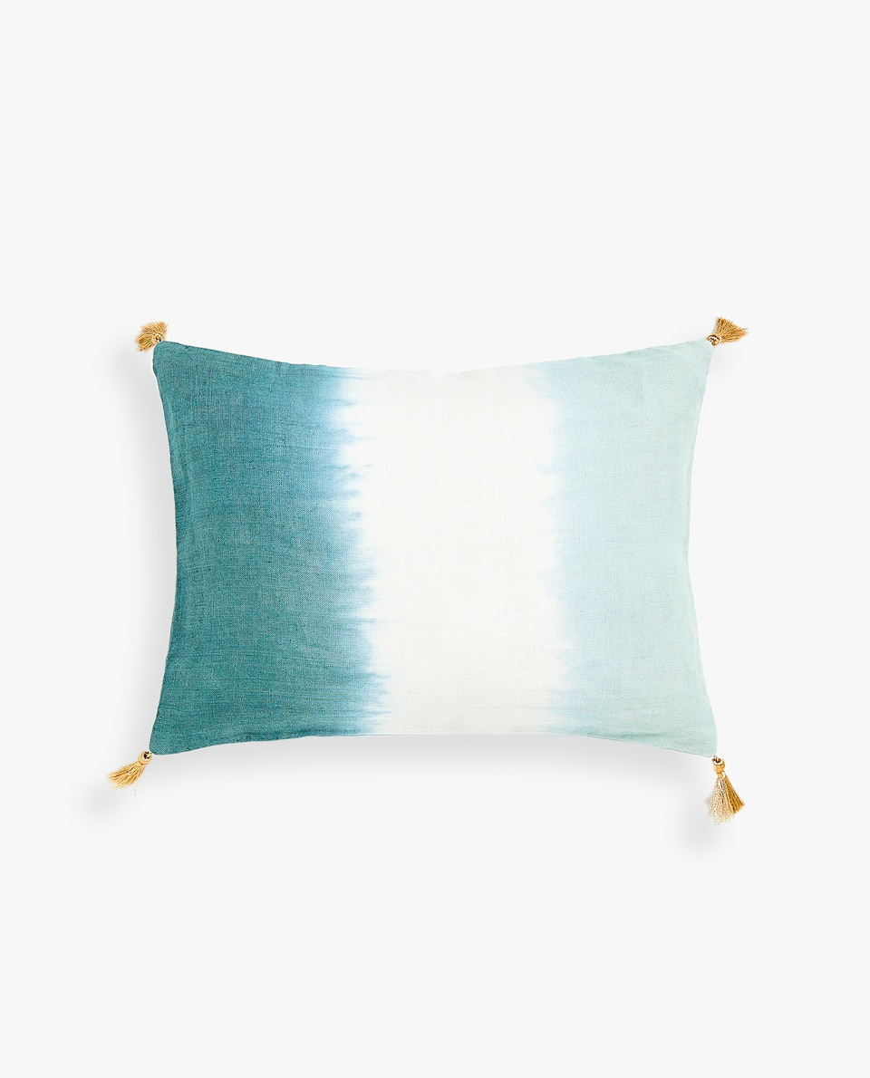 OMBRÉ LINEN CUSHION COVER