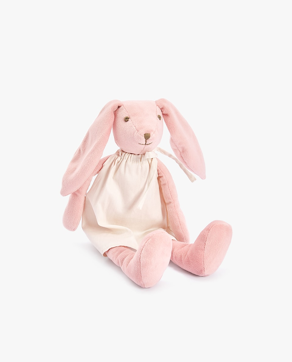 RABBIT SOFT TOY WITH LONG EARS
