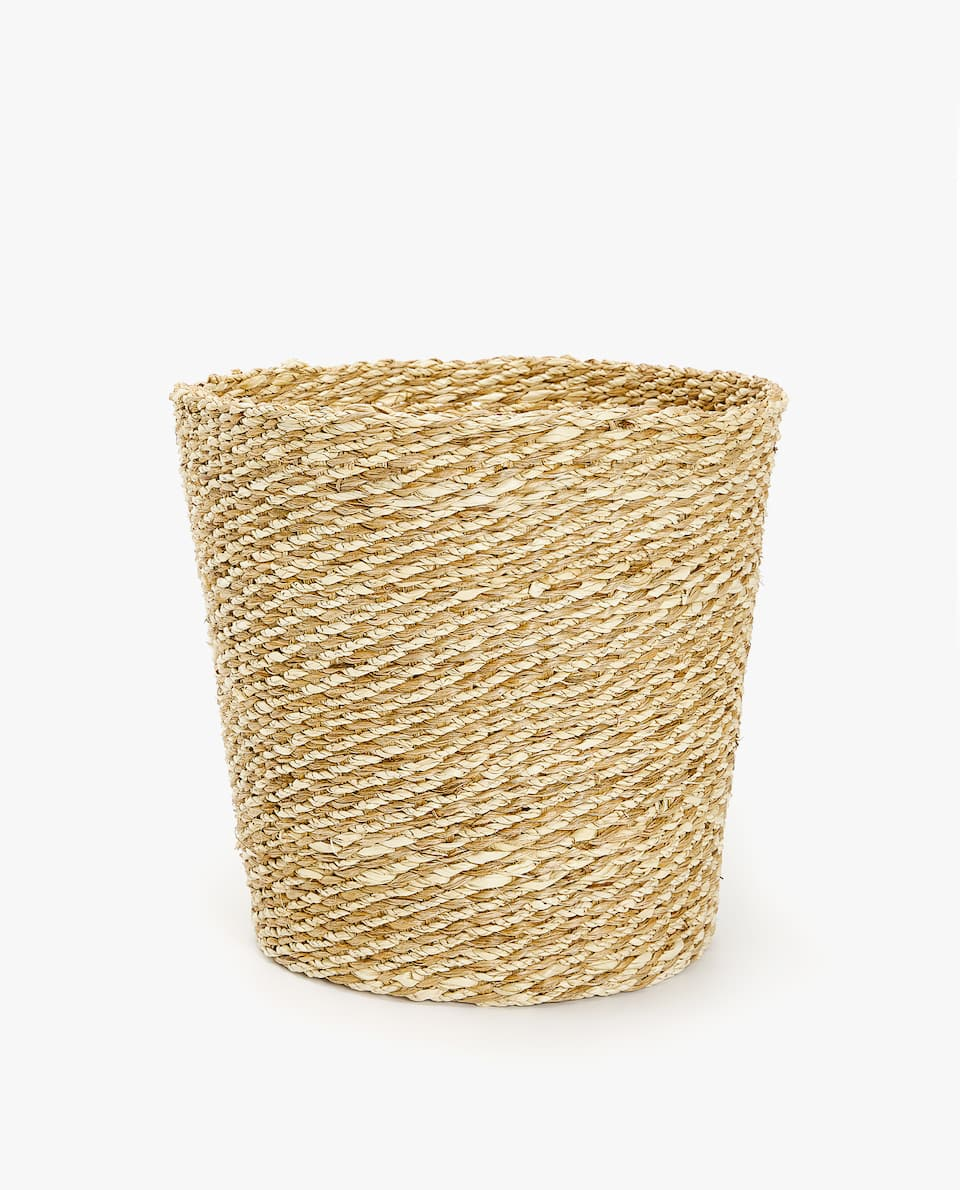 JUTE WASTEPAPER BASKET