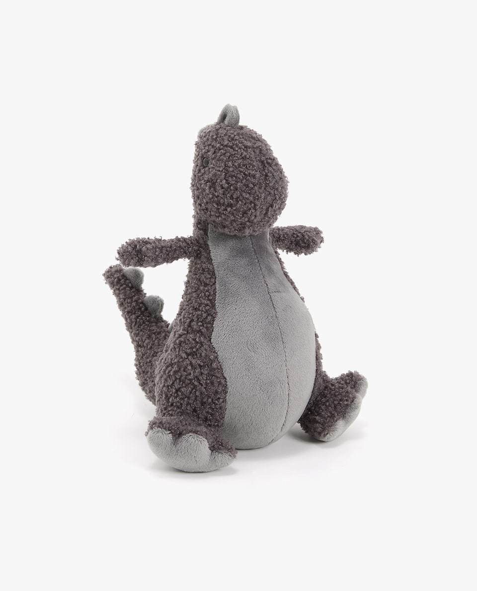 GREY DINO SOFT TOY