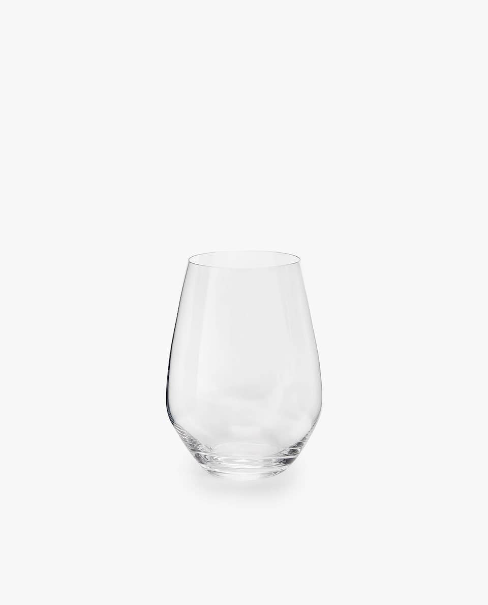 OVAL GLASS TUMBLER