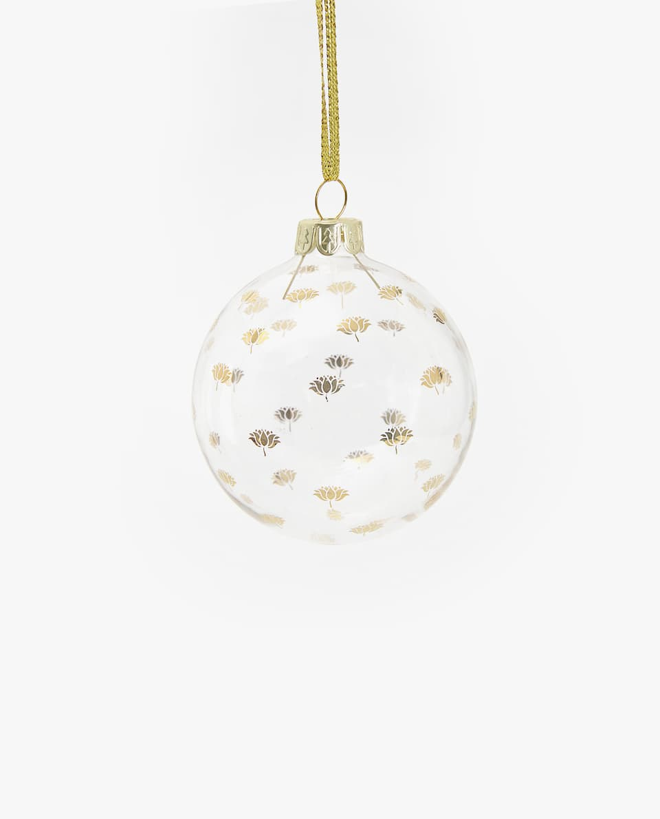 DOTTED CHRISTMAS TREE ORNAMENT (PACK OF 3)