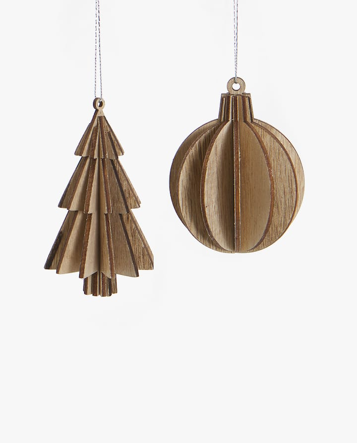 christmas tree decoration pack of 2 - Japanese Christmas Tree Decorations
