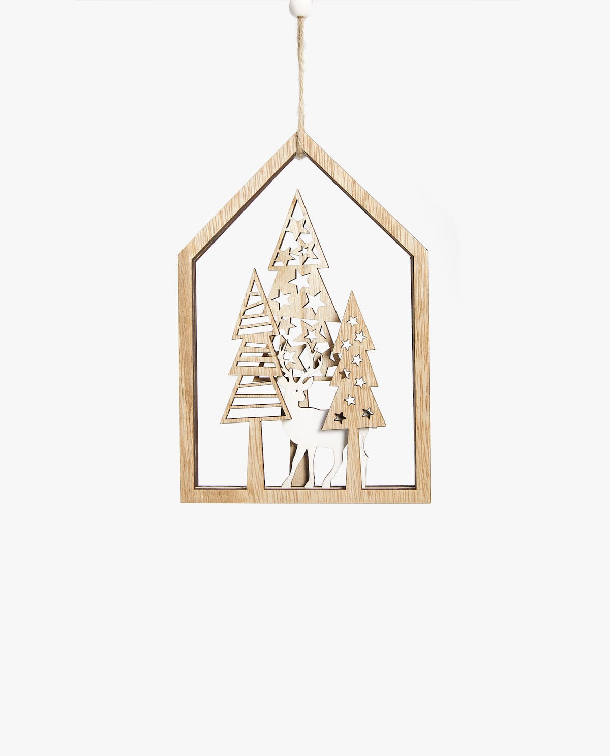 WOODEN DECORATION - DECORATIONS - FOR THE TREE - DECORATION ...