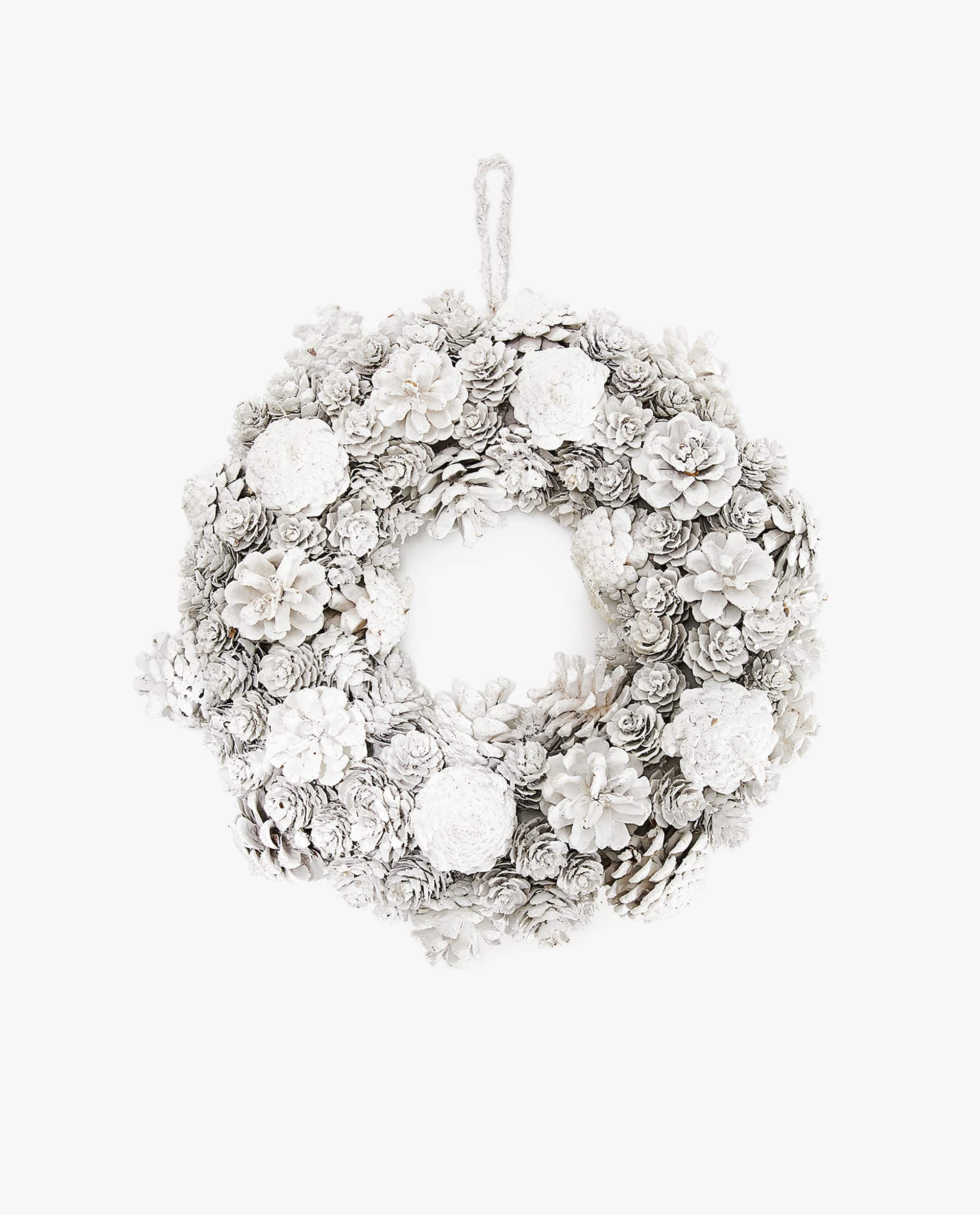 White Christmas Wreath - Zara Home