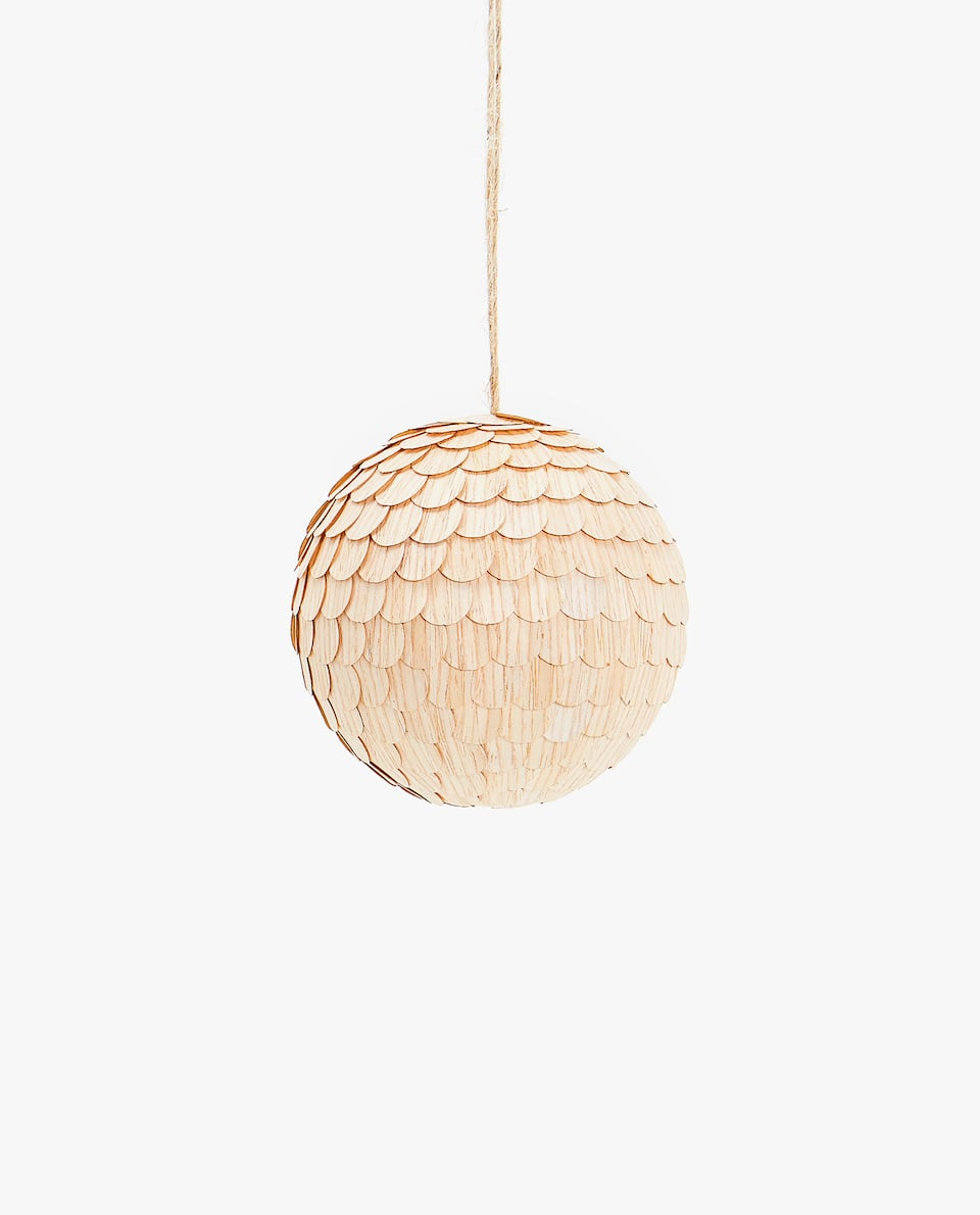 SCALED CHRISTMAS TREE BAUBLE