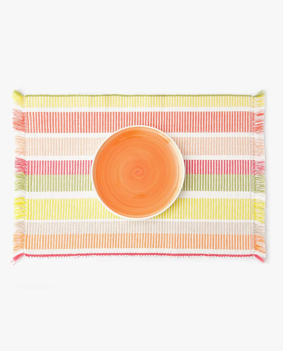 STRIPED PLACEMAT (PACK OF 2)
