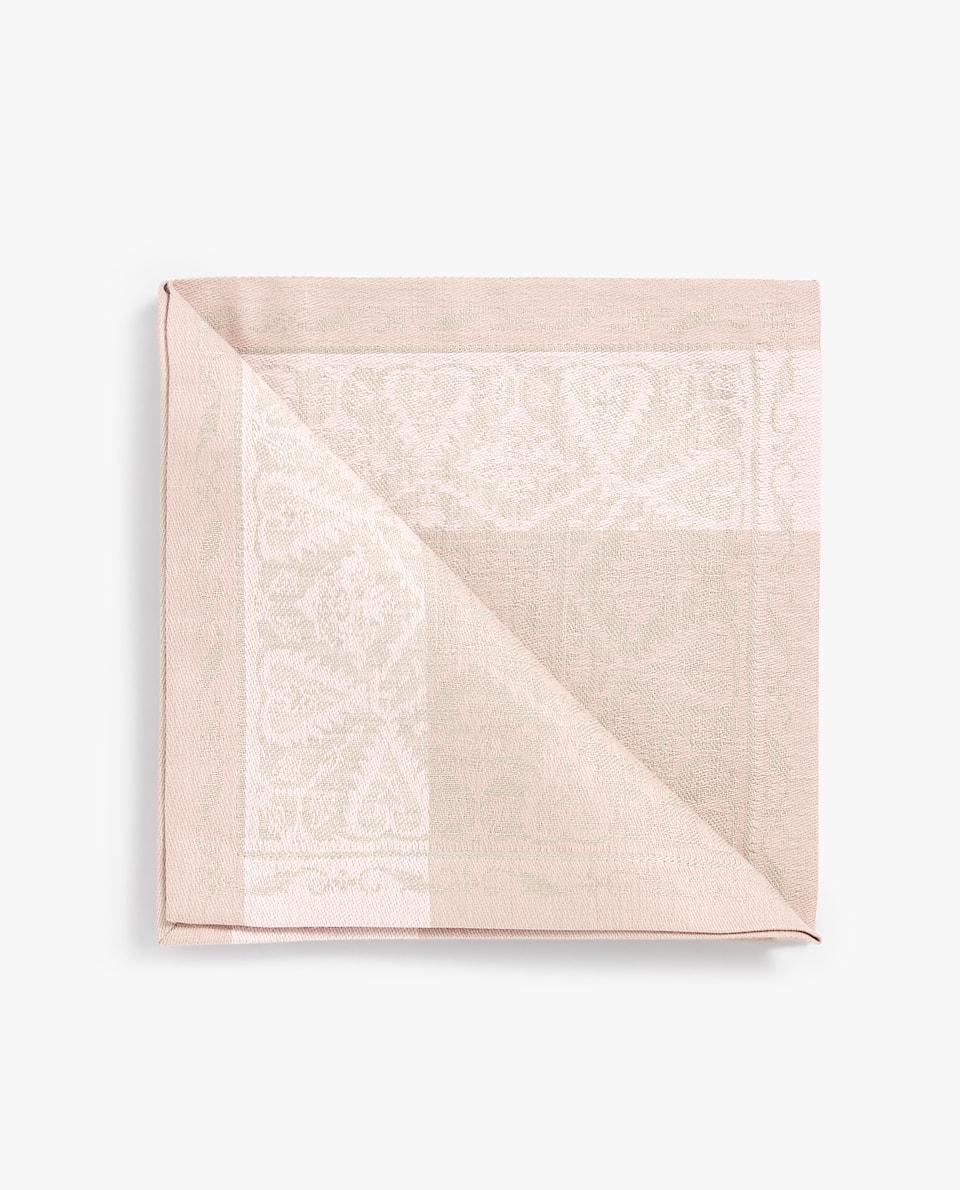 JACQUARD NAPKIN WITH BORDER (PACK OF 4)