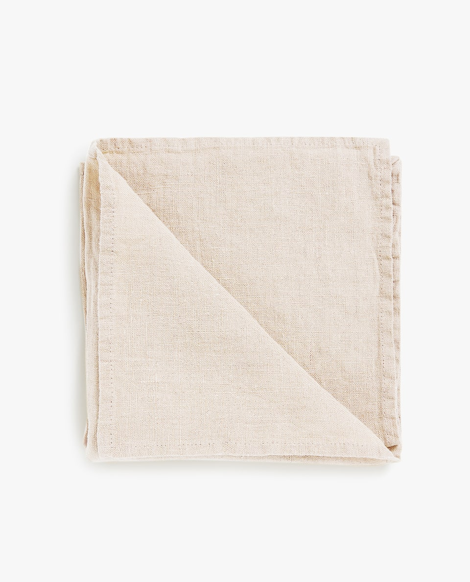 FADED LINEN NAPKIN (PACK OF 4)