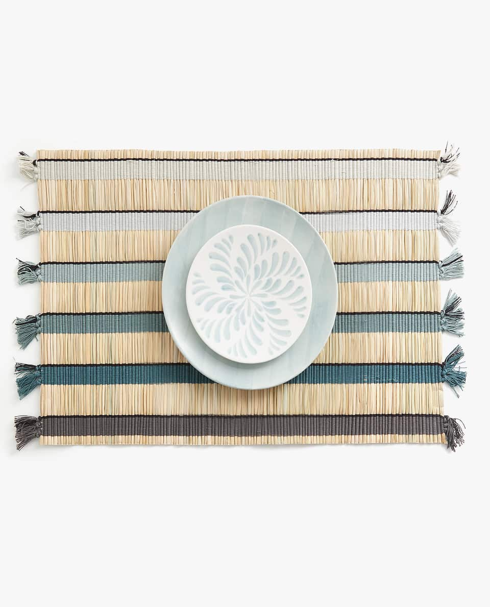 VEGETABLE FIBRE PLACEMAT (PACK OF 2)