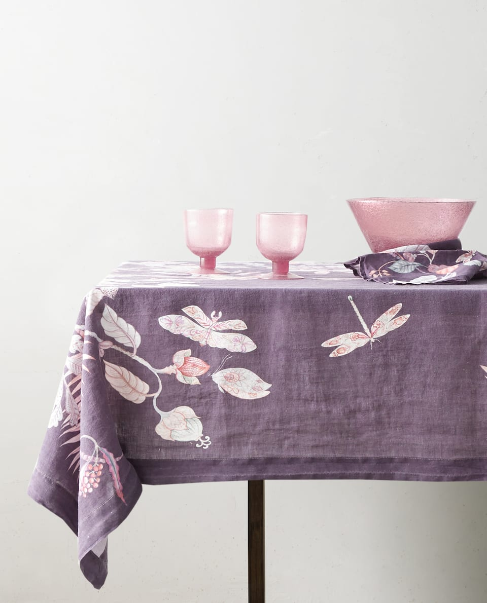 JUNGLE PRINT TABLECLOTH