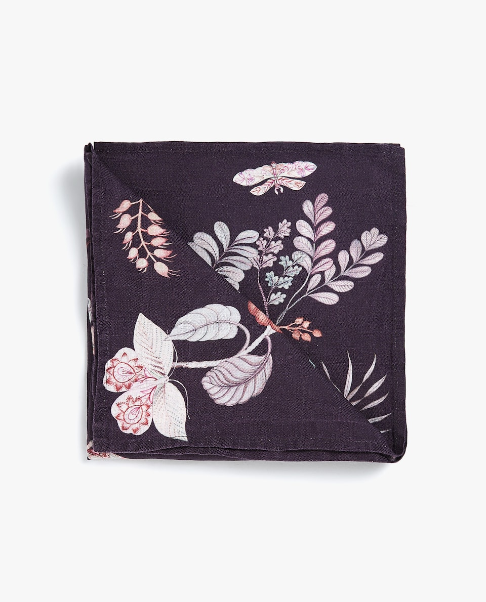 JUNGLE PRINT NAPKIN (PACK OF 4)