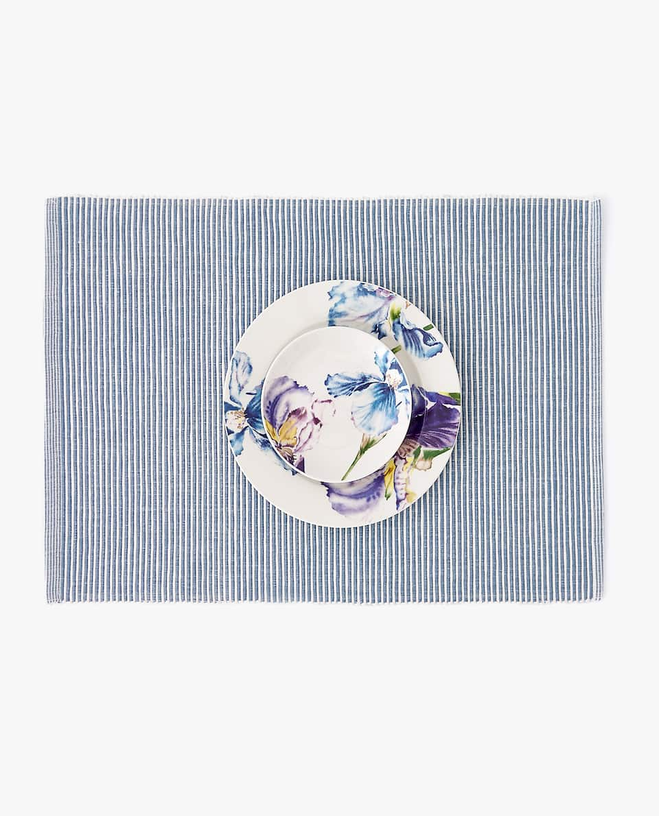 STRIPED NEEDLECORD PLACEMAT (PACK OF 2)