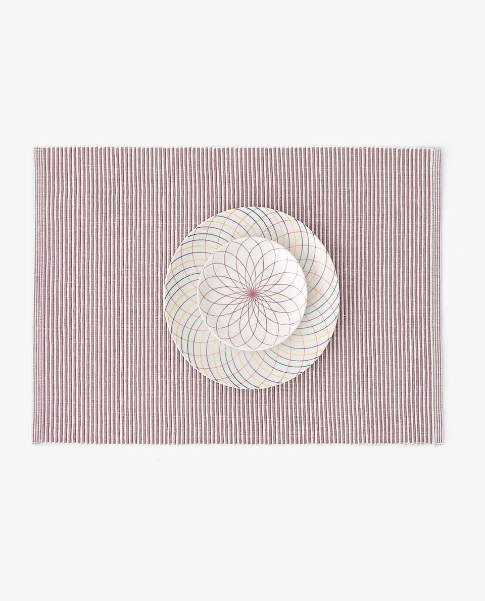 STRIPED CANUTILLO PLACEMAT (PACK OF 2)
