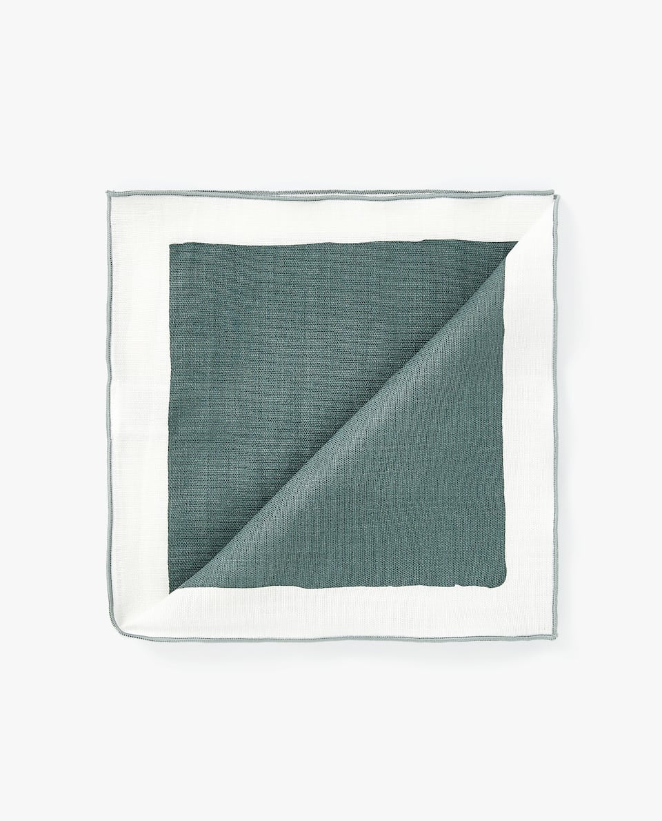 COLOUR BLOCK NAPKIN (PACK OF 4)
