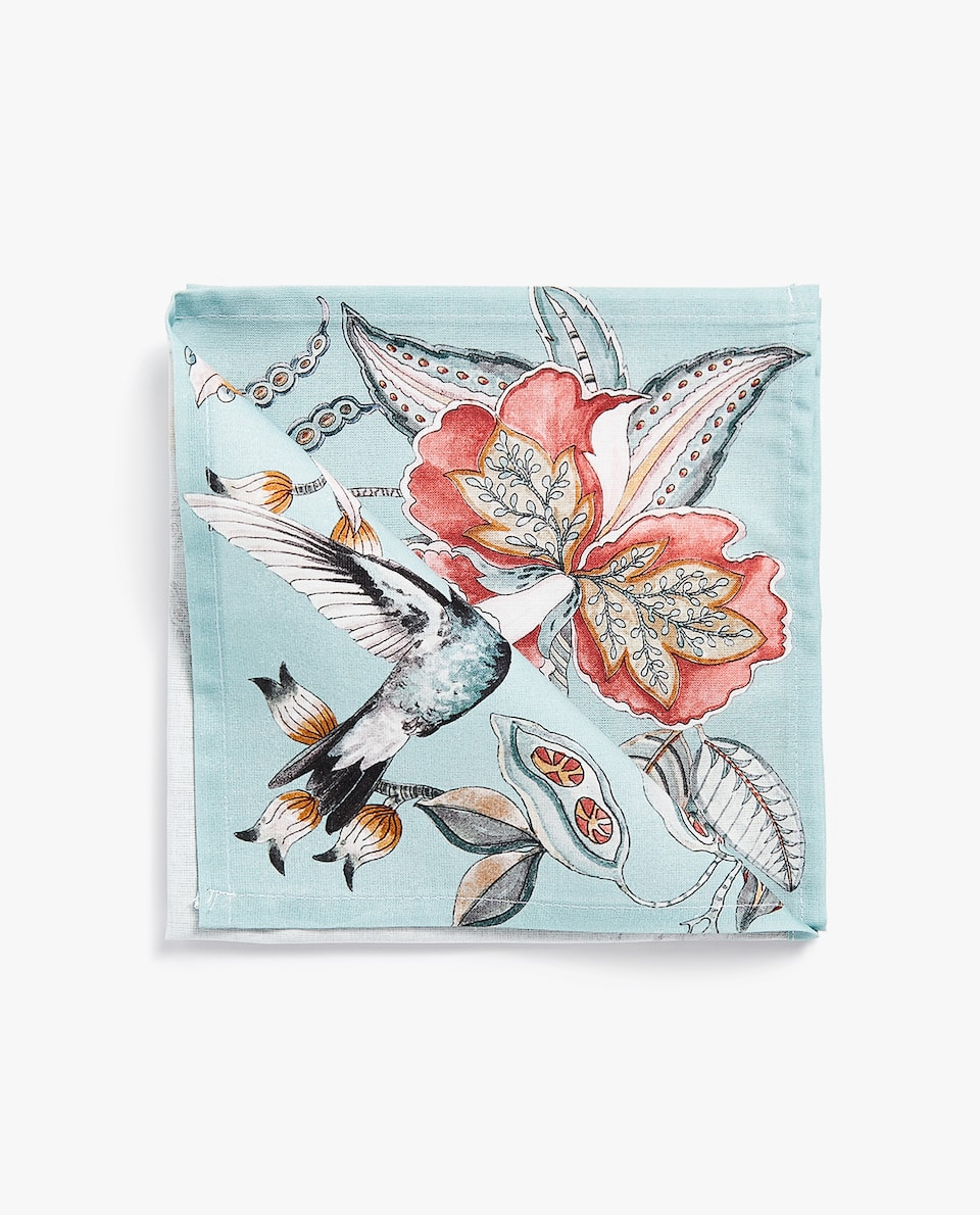 WILD PRINT NAPKIN (PACK OF 4)