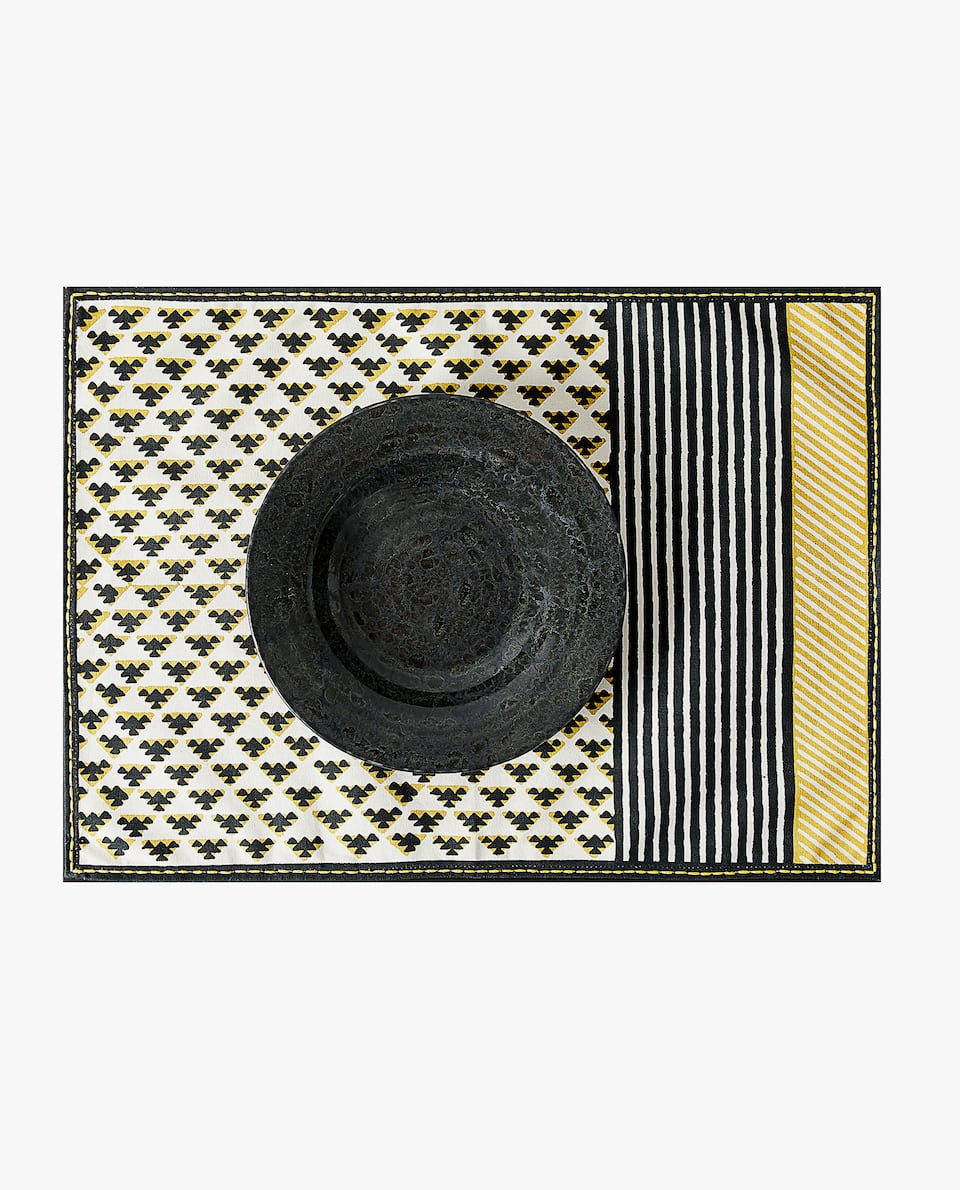 GEOMETRIC PLACEMAT (PACK OF 2)