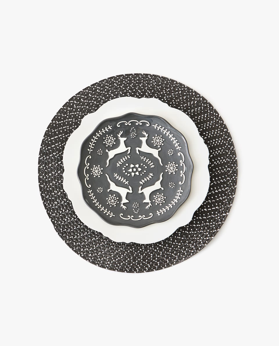 ROUND PLACEMAT. (PACK OF 2)