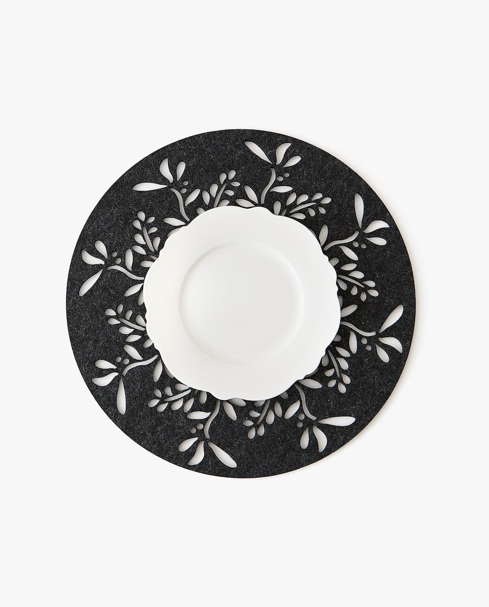 SET DE TABLE EN FEUTRE