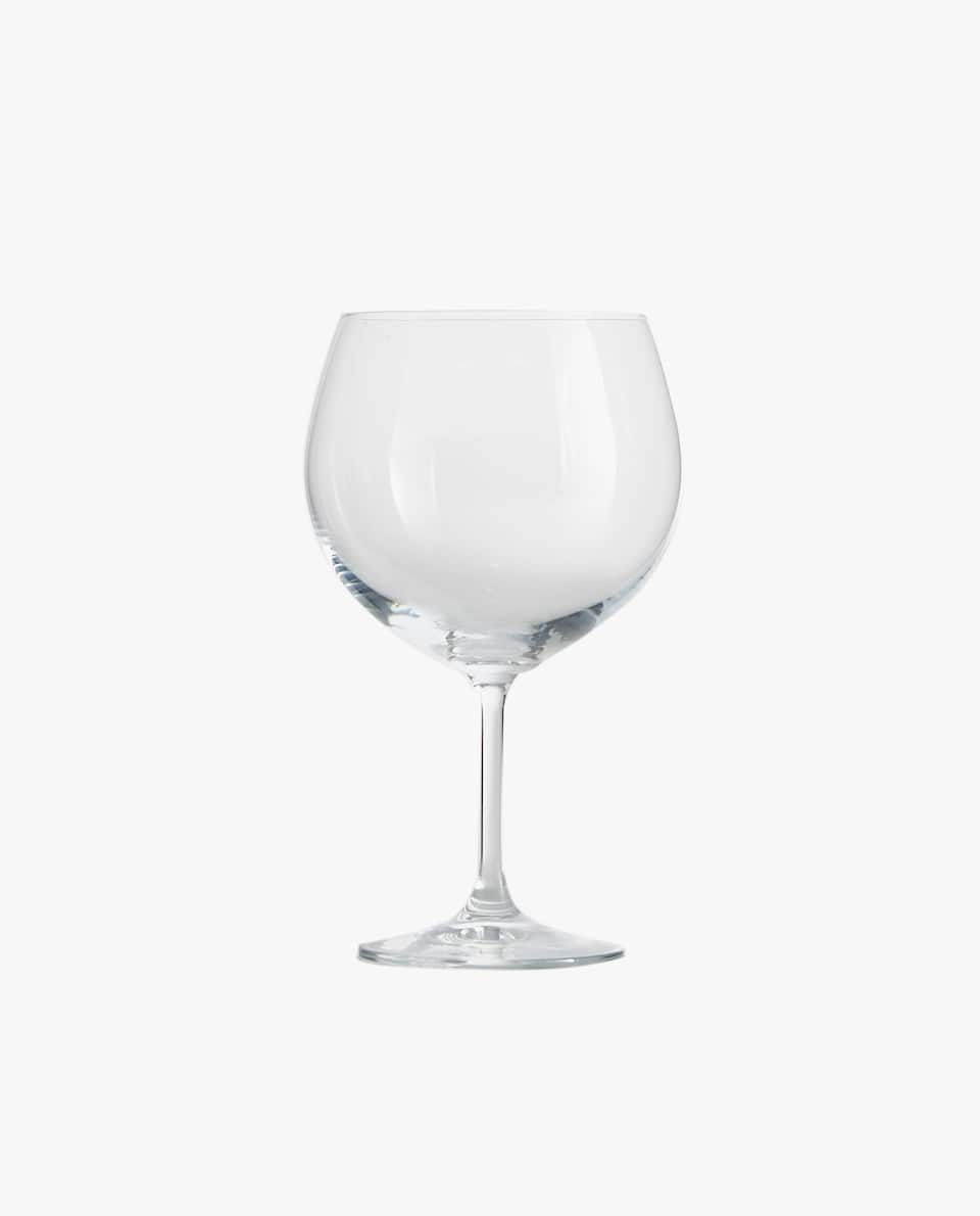 CRYSTALLINE GIN GLASS