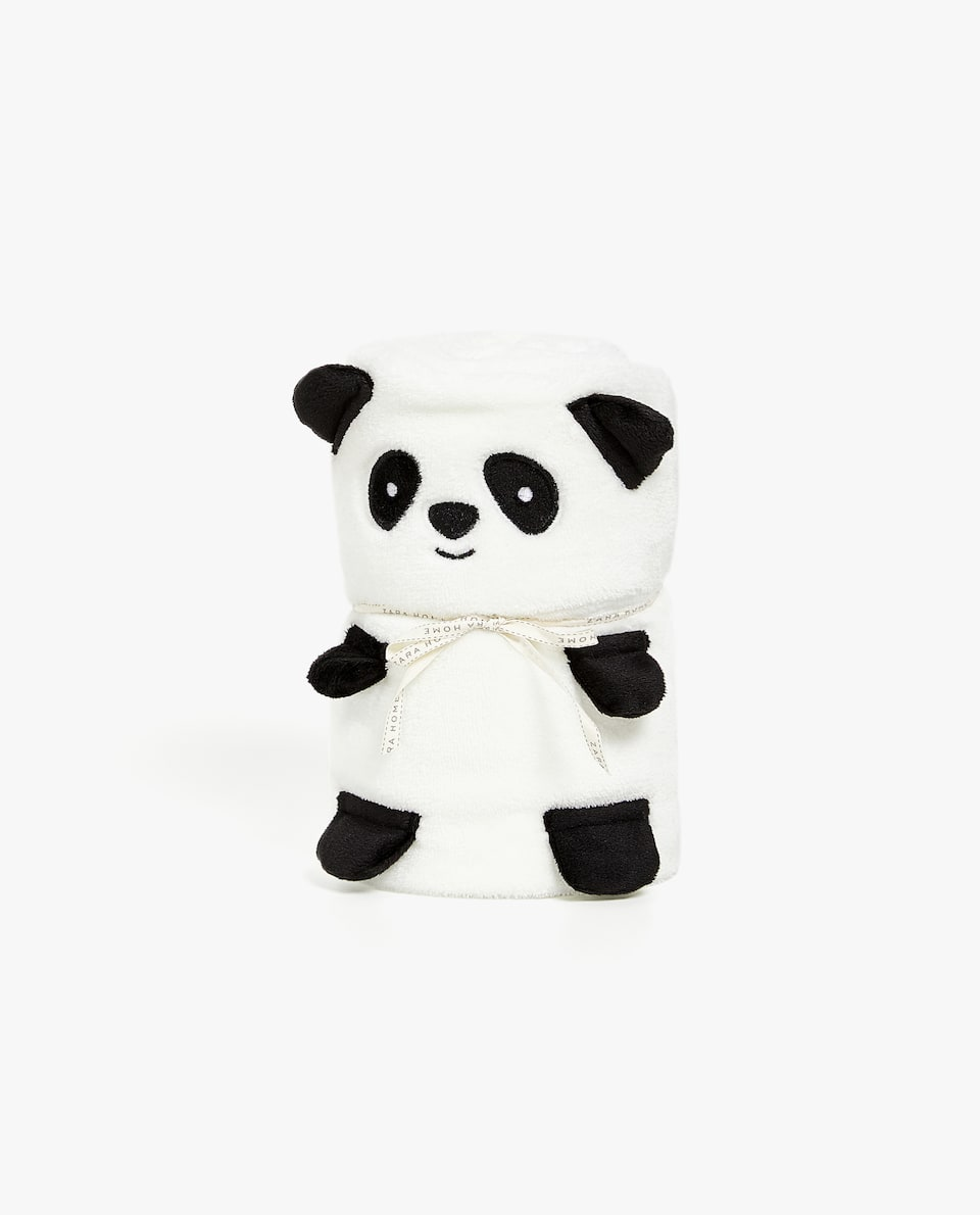 FLEECE PANDA DOLL BLANKET