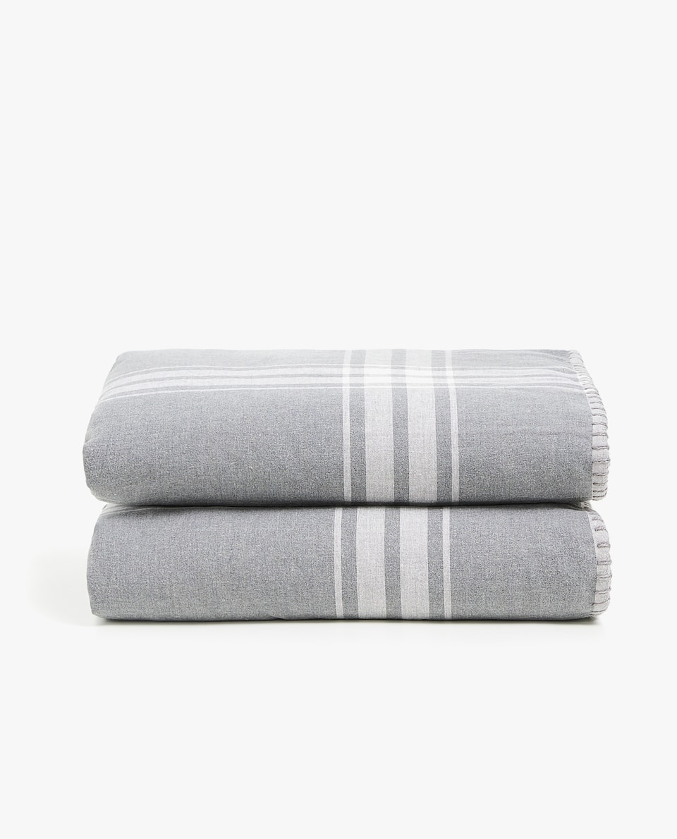 Checked Double Sided Blanket by Zara Home