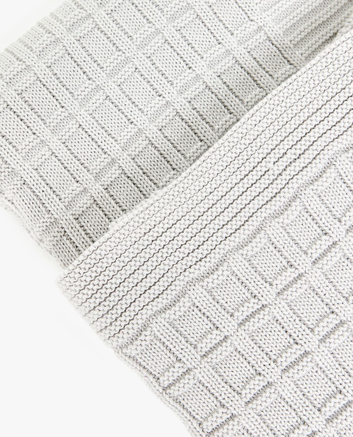 CHECK KNIT COTTON BLANKET - COLLECTION - JOIN LIFE   Zara Home ...