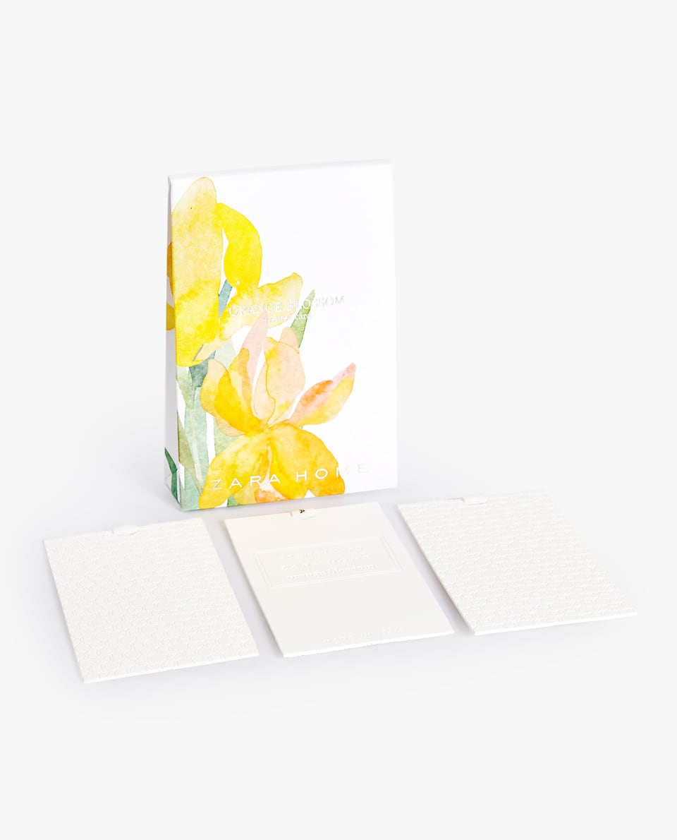 ORANGE BLOSSOM SCENTED CARDS