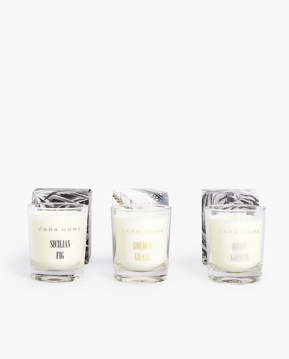 MINI CANDLE COLLECTION (PACK OF 3)