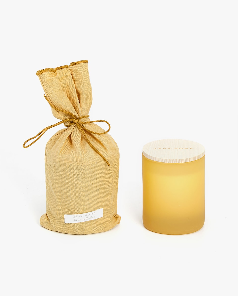ABSOLUTE LINEN AROMATIC CANDLE