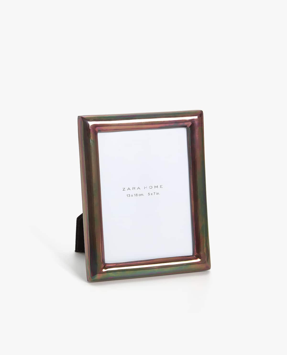 COLOURED FINISH METAL FRAME - PHOTO SIZE 13X18 CM - PHOTO FRAMES ...