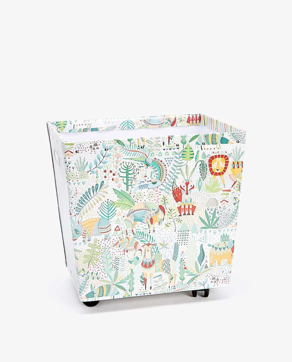 JUNGLE ANIMAL TROLLEY