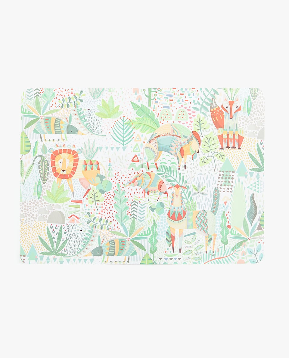 FOREST ANIMALS PLACEMAT