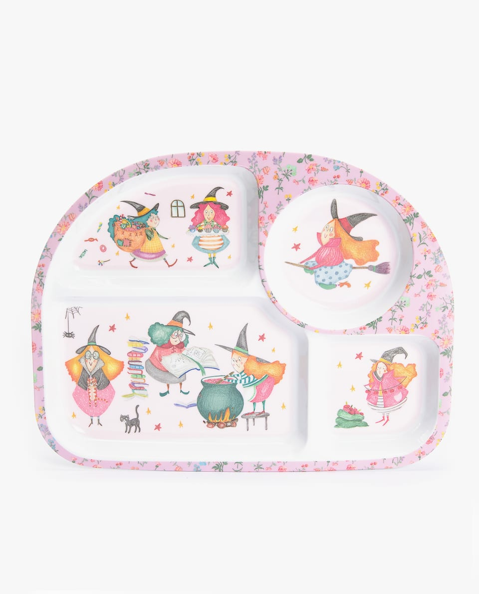 WITCHES MELAMINE TRAY