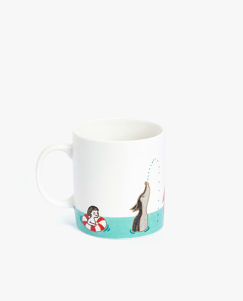RED RIDING HOOD PORCELAIN MUG