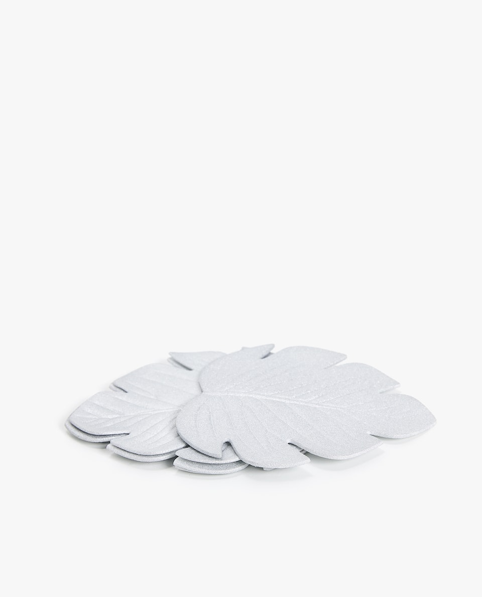 LEAF SHAPED COASTER (PACK OF 4)