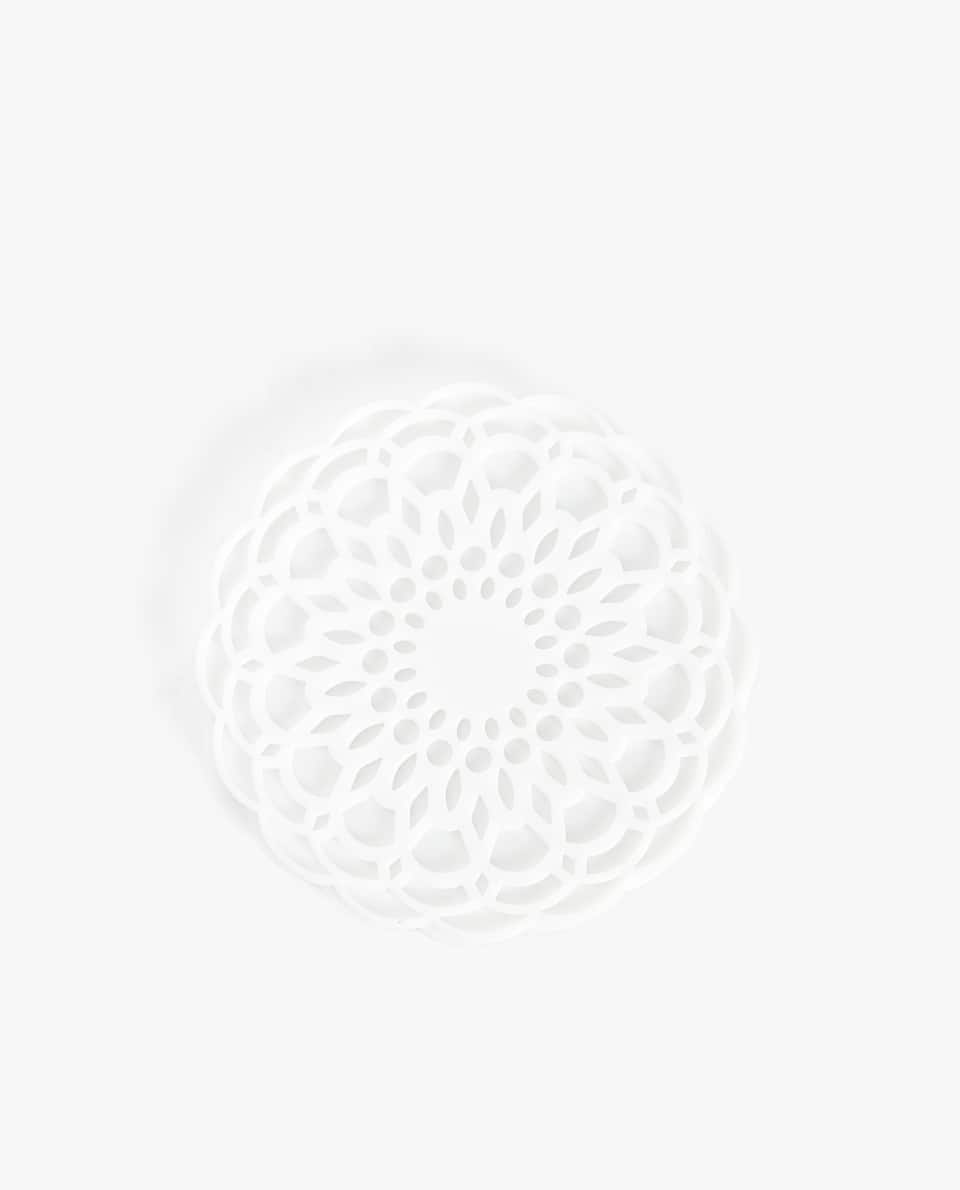 DIE-CUT FLOWER COASTER (PACK OF 4)