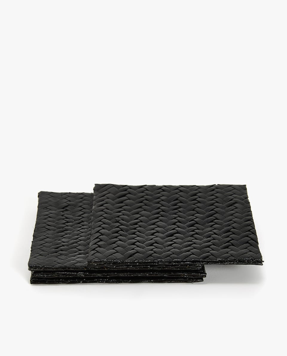 PLAITED COASTER (PACK OF 4)