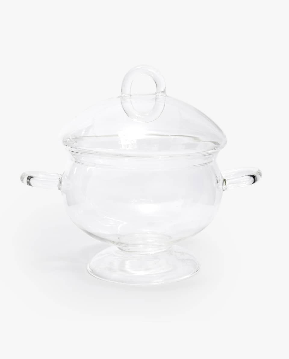 SOUP BOWL WITH BOROSILICATE GLASS LID