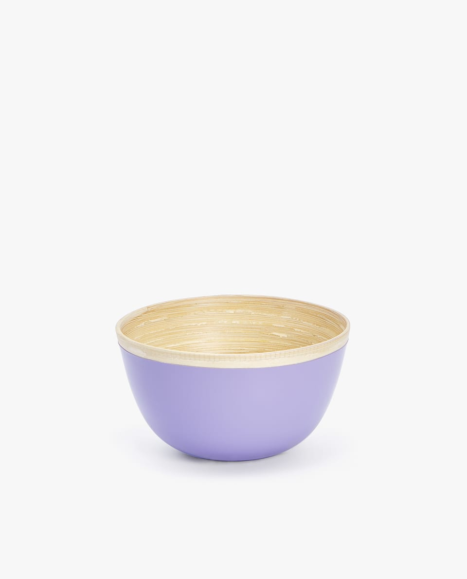 COLOURFUL BAMBOO BOWL