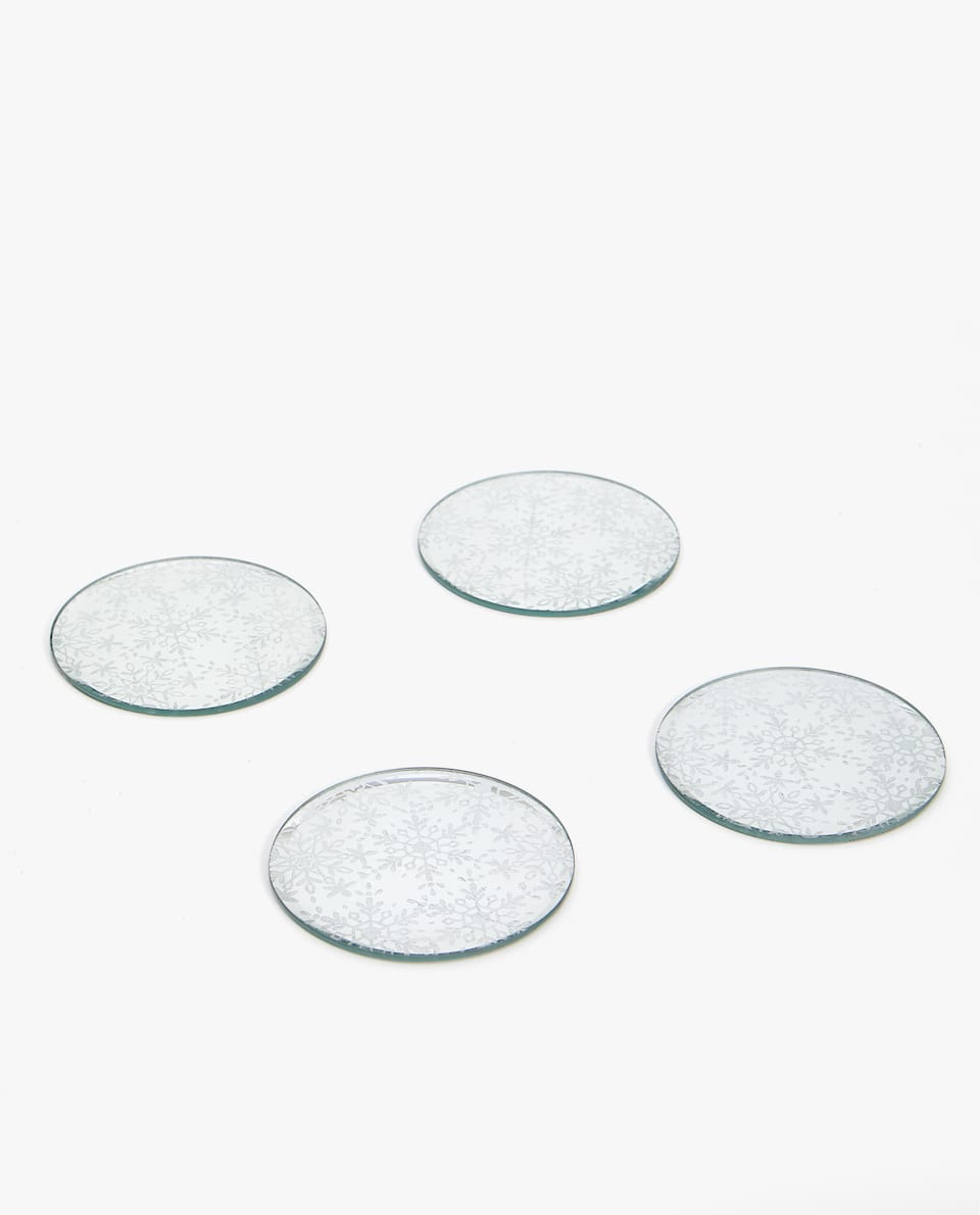 GLASS COASTER (PACK OF 4)