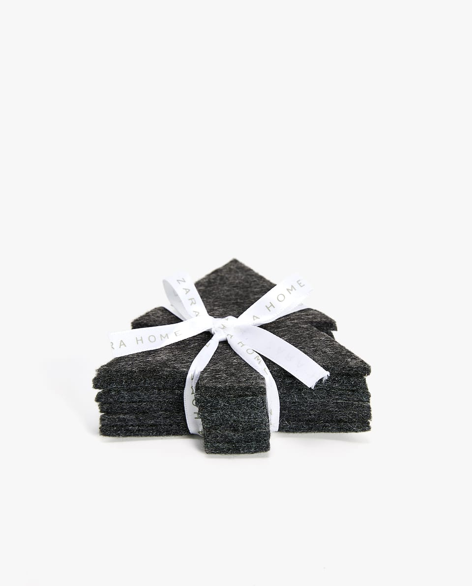 FELT COASTER (PACK OF 6)