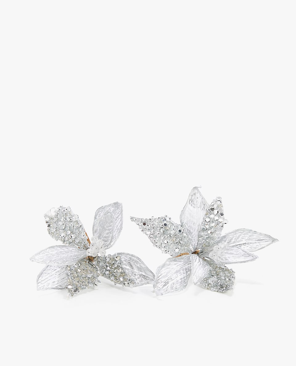 GLITTER NAPKIN RING (PACK OF 2)