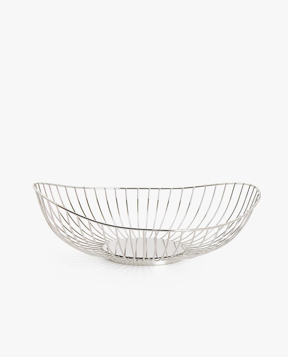 ROUND METAL BASKET