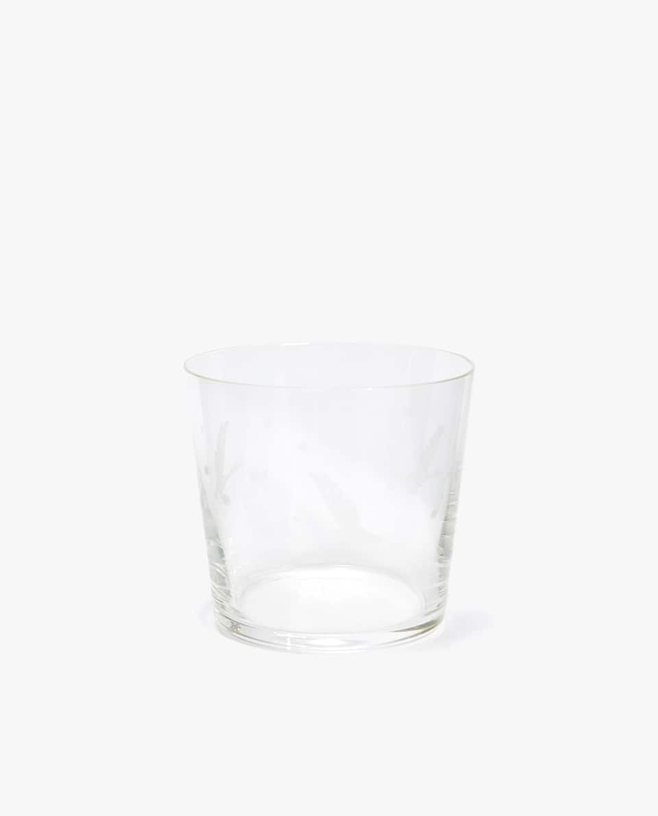 ENGRAVED DUCK CRYSTALLINE TUMBLER