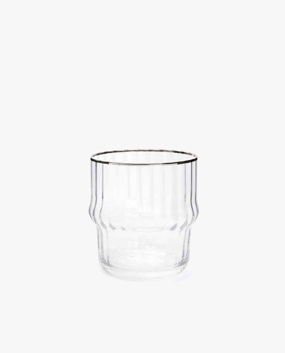 SCALLOPED EDGE TUMBLER