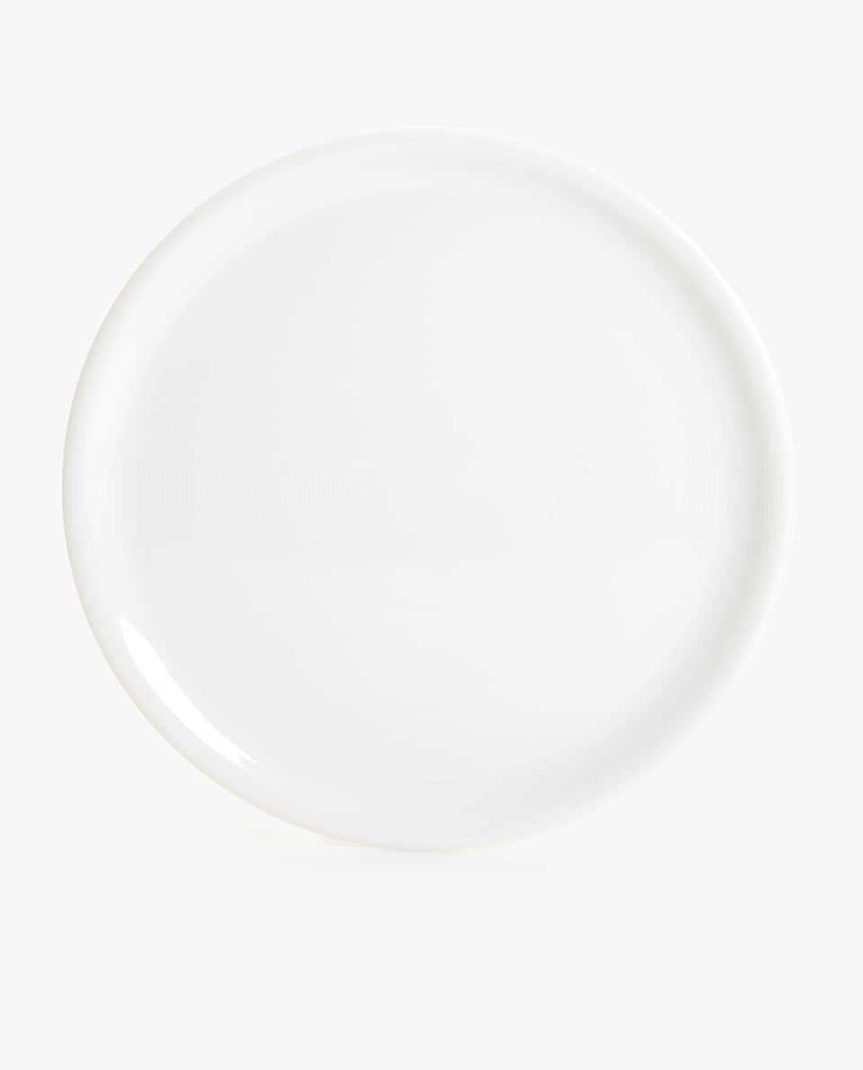 WHITE PORCELAIN SERVING DISH