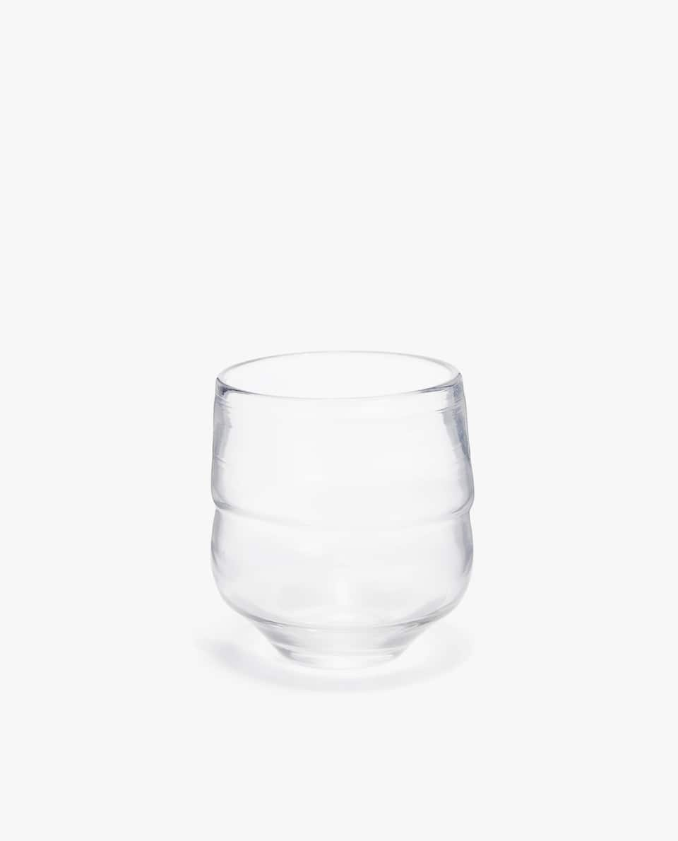 ORGANIC SHAPED GLASS TUMBLER