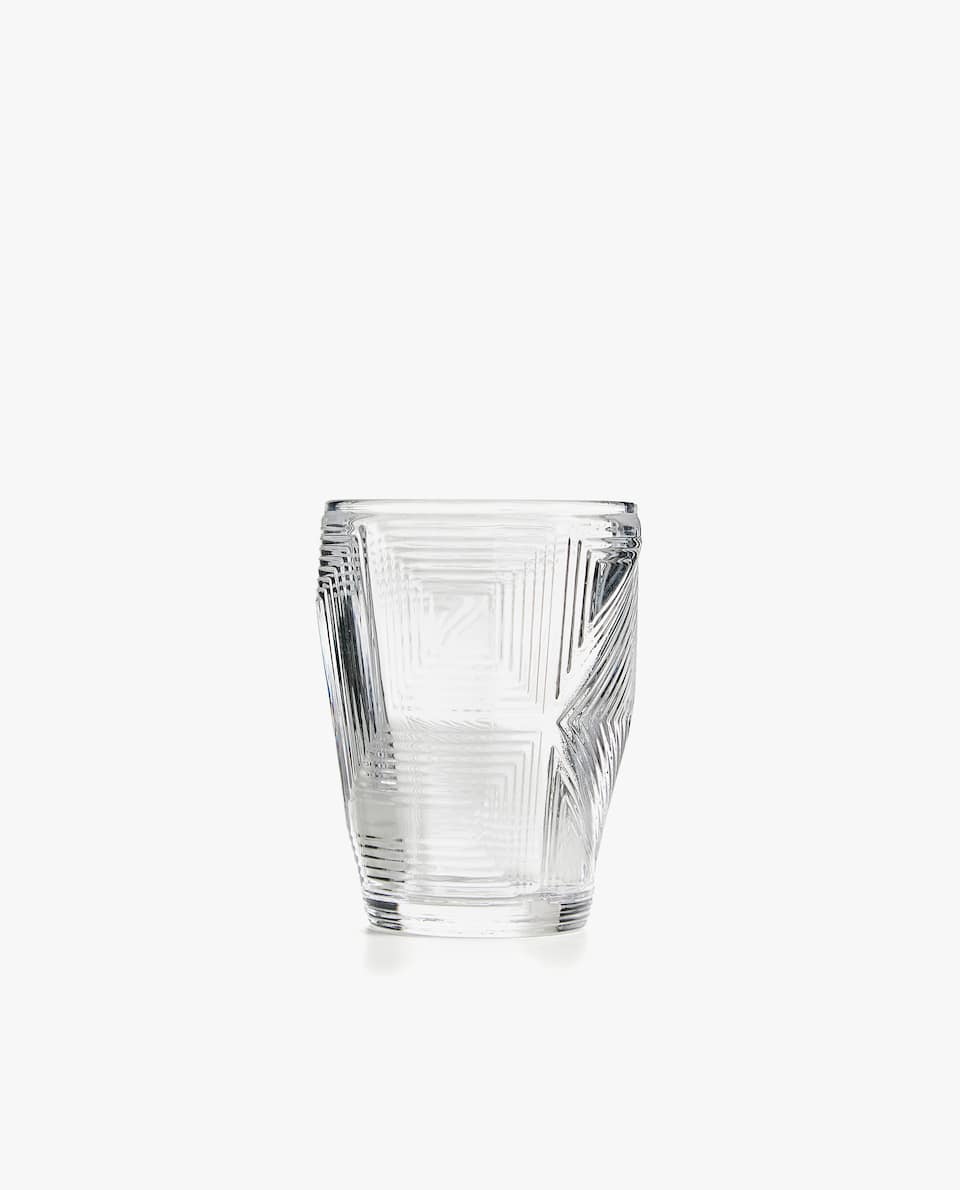 Tumbler With A Raised Geometric Design by Zara Home